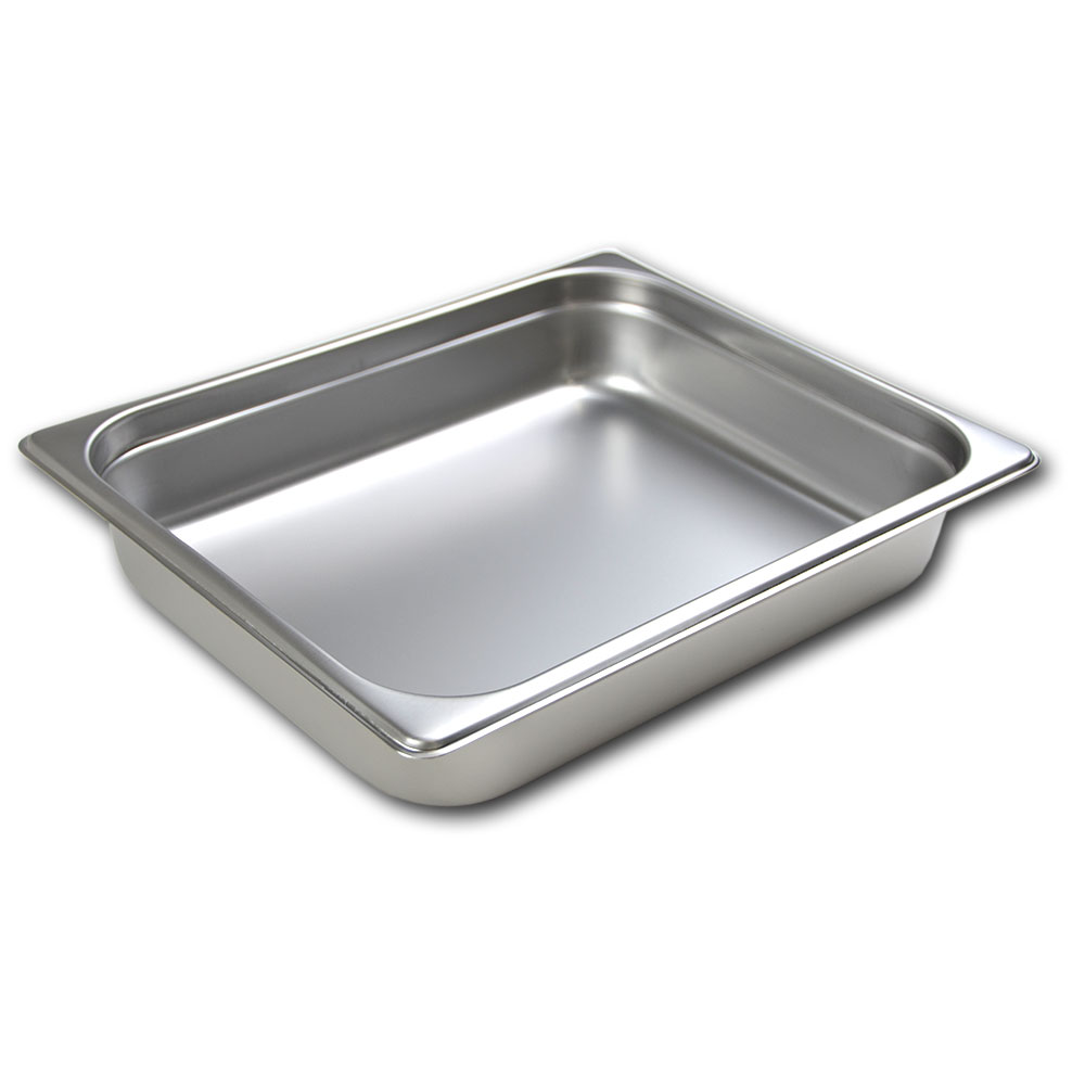 Browne Halco 22124STP Half-Sized Steam Pan, Stainless