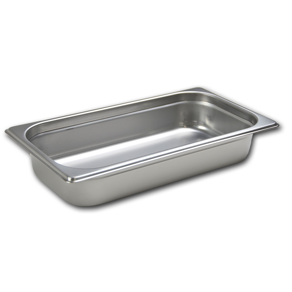 Browne Foodservice 22134 Third-Size Steam Pan, Stainless
