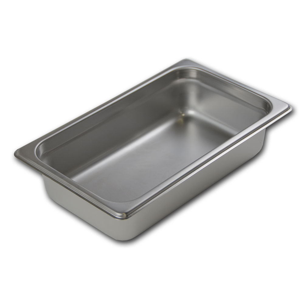 Browne Foodservice 22146 Fourth-Size Steam Pan Cover, Stainless