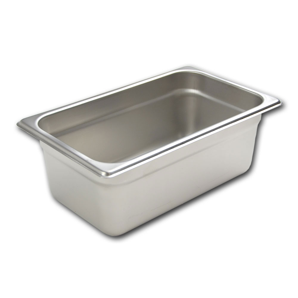 Browne 22144 Fourth-Size Steam Pan Cover, Stainless