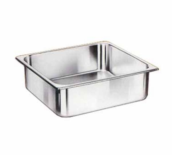 Browne Foodservice 22232 Two-Third Size Steam Pan, Stainless