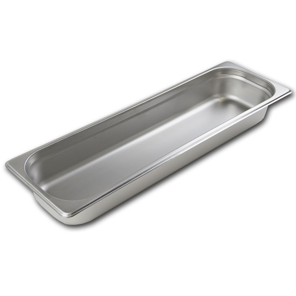 Browne Halco 22242L Half-Sized Steam Pan, Stainless