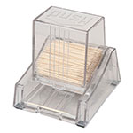"Browne 406S Toothpick Dispenser, 4-1/2""High, Clear Plastic"