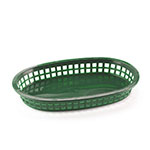 Browne Halco 496FG Fast Food Basket, 10 x 7 x 1-1/2 in, Green