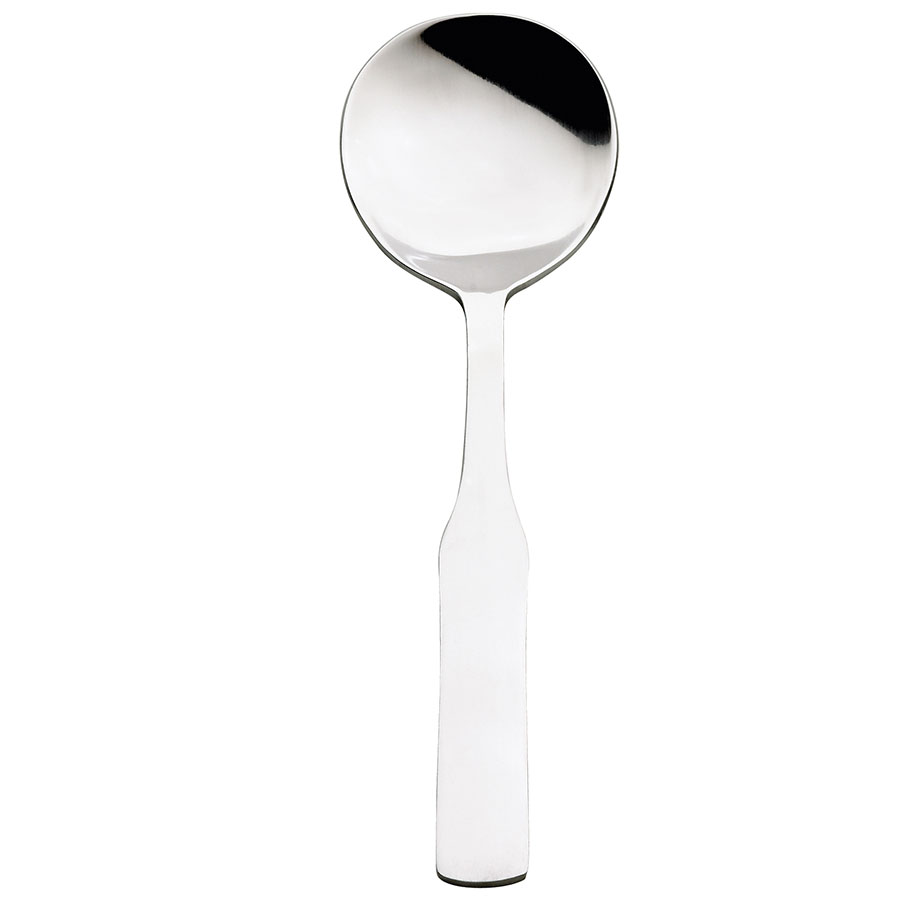 Browne Halco 502713 Elegance Round Soup Spoon, 18/0 Stainless Steel