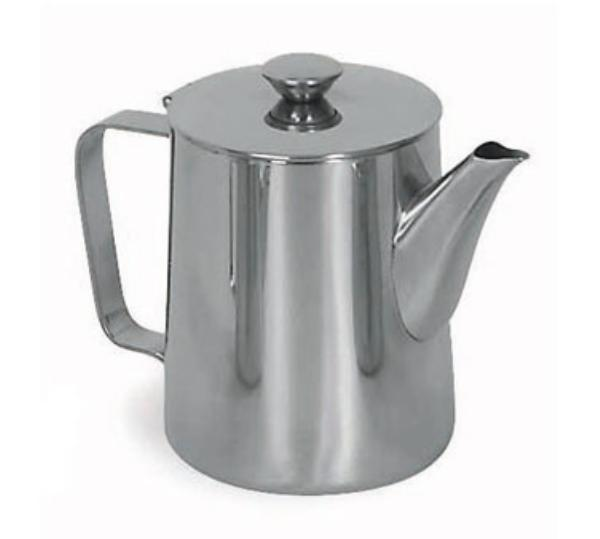 Browne Foodservice 515005 Contemporary Coffee Pot, 70 oz, 18/8 Stainless Steel