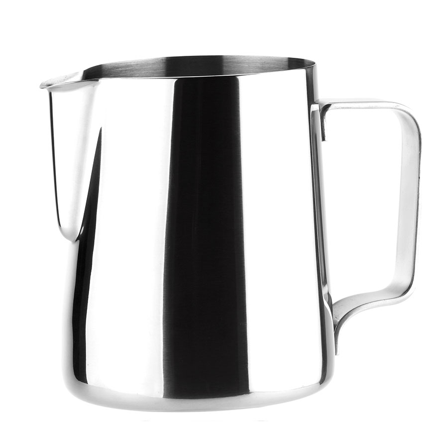 Browne Foodservice 515007 Contemporary Milk Pot, 12 oz, 18/8 Stainless Steel