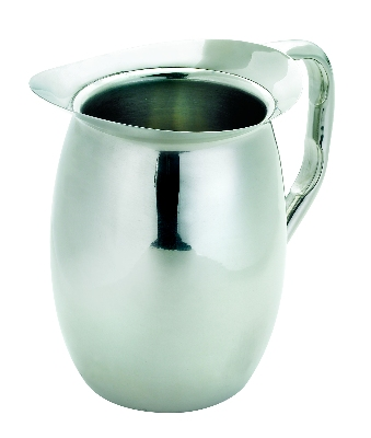 Browne Halco 515075 64 oz Insulated Pitcher Hollow Handle Stainless Steel Mirror Finish Restaurant Supply
