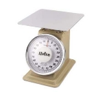 Browne Foodservice 53708 Heavy Duty Portion Scale, 100 lb x 4 oz Graduation, Fixed 10 in Dial