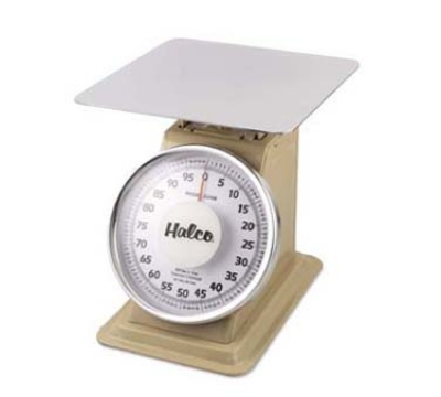 Browne Halco 53708 Heavy Duty Portion Scale, 100 lb x 4 oz Graduation, Fixed 10 in Dial