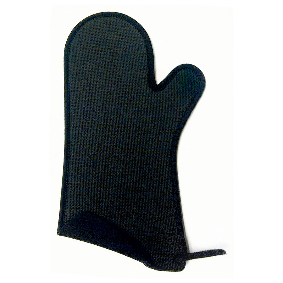 Browne Halco 5432202 Safety Oven Mitt w/ Non-Slip Grip, Dishwasher Safe, Black, 10.75 L x 6.5 W