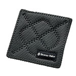 Browne 5436102 Duncan KitchenGrips Hot Pad, 7 x 7 in, Black