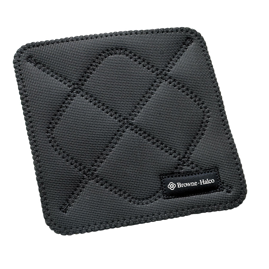 Browne Foodservice 5436502 Duncan KitchenGrips Hot Pad, 10 x 10 in, Black