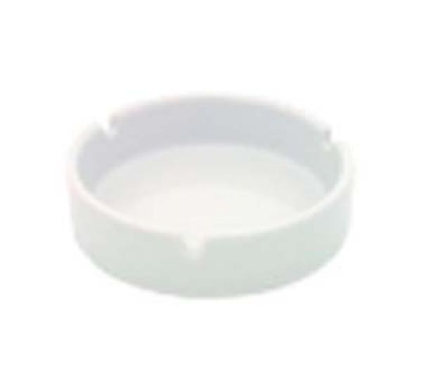 Browne Foodservice 563920 Ashtray, 4 in, White Porcelain