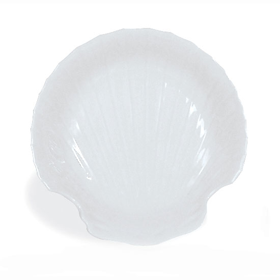 Browne Halco 564008 Baking Shell, 6 in, Porcelain White