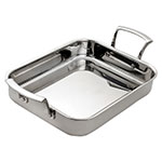 "Browne 5724176 Thermalloy® Roast Pan - 14"" x 11.4"", Stainless"