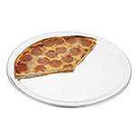 "Browne 57 30034 14""Wide Rim Pizza Pan, Aluminum, Natural Finish"