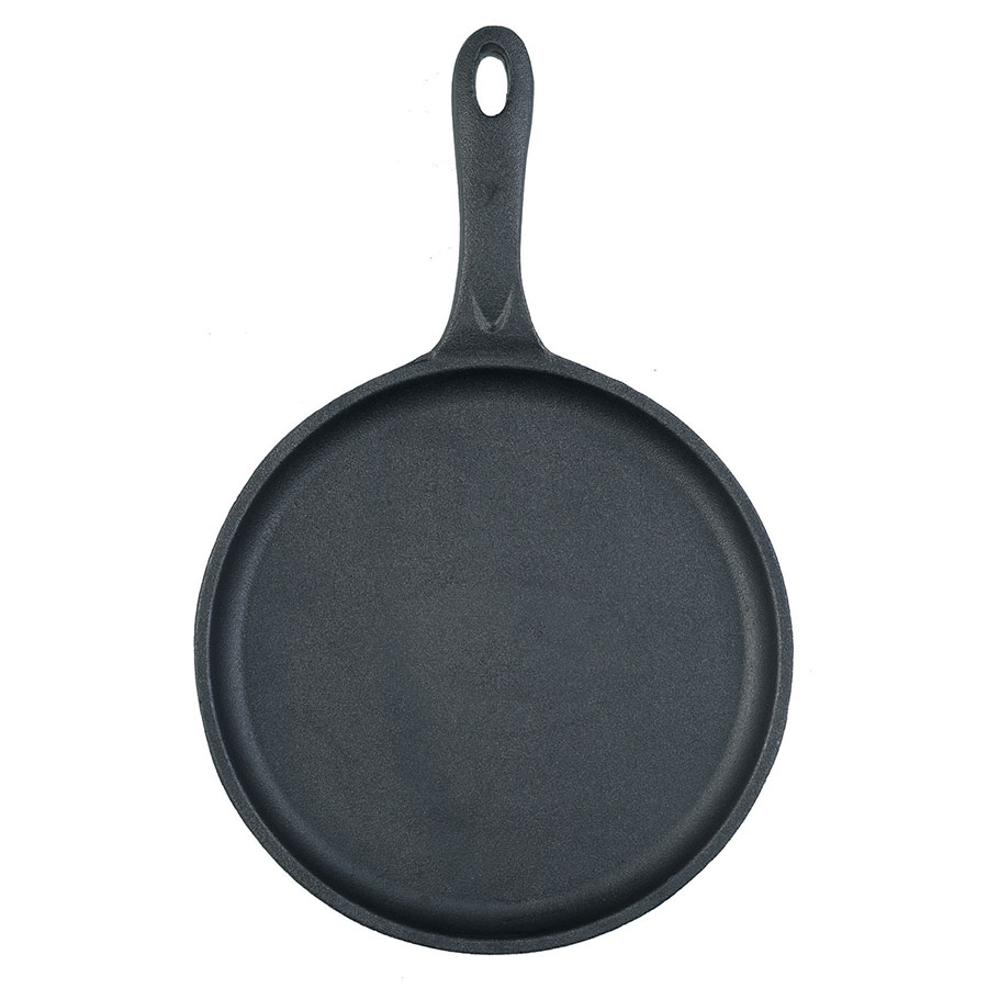 Browne Foodservice 573703 Thermalloy Cast Iron Round Skillet w/Handle, 10 x 3/4 in