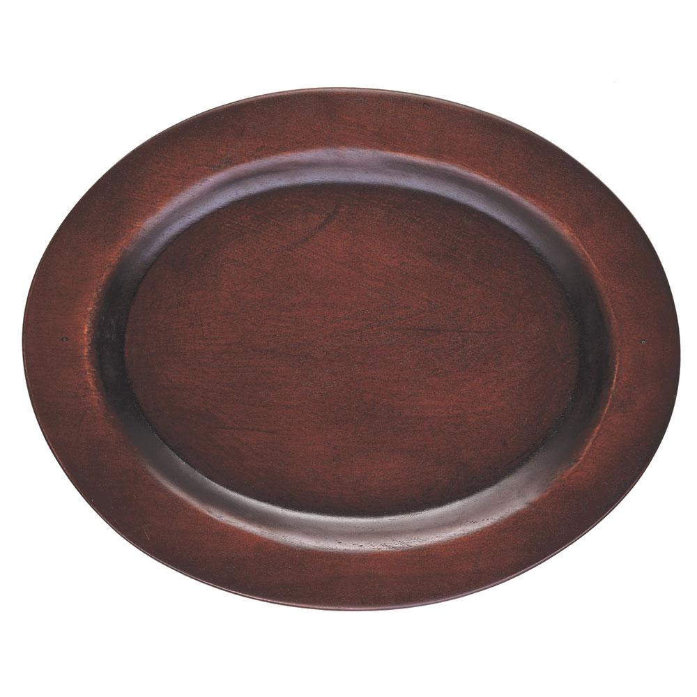"""Browne 573706 Wood Underliner for 10"""" Oval Skillet"""