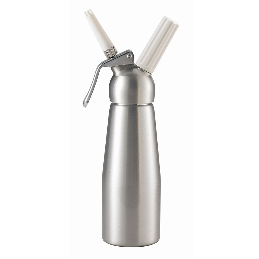 Browne 574350 Whipped Cream Dispenser 16 Oz Two Nozzles