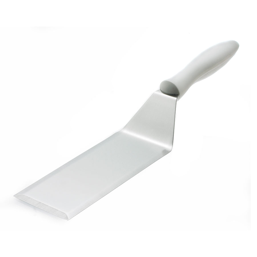 Browne Foodservice 574376 Square End Turner, 6 x 3 in Blade, Heat Resistant to 446 F/ 230 C