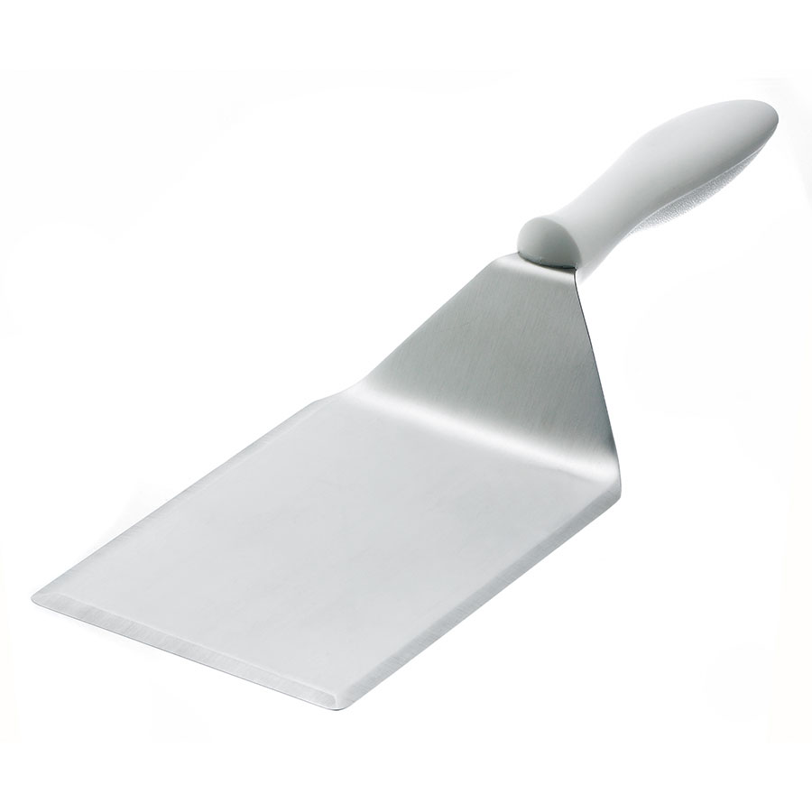Browne Foodservice 57 4381 Large Beveled Turner, 5 x 6 in Blade, Heat Resistant to 446 F/ 230 C