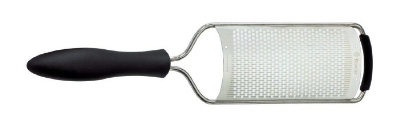 Browne Foodservice 57 4471 Flat Fine Hand Grater w/ Egonomic Nylon Handle