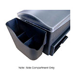 Browne Halco 574877 Side Compartment Accessories Holder, 6x2.33x5.5-in