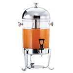 Browne Halco 575174 Octave 7-qt Juice Dispenser, Poly w/ Stainless Top, (45) 5-oz Servings