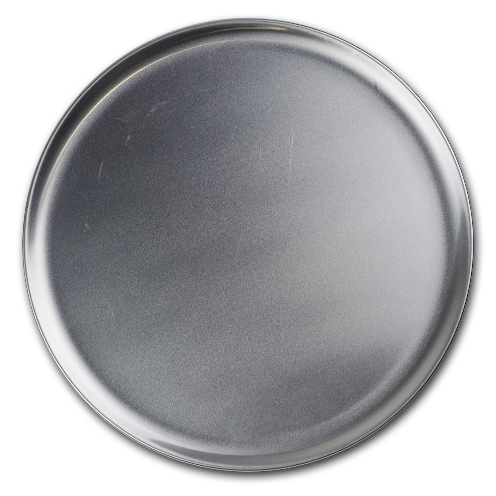 "Browne 575312 Aluminum Pizza Plate, 12"" Diameter, Solid, 1.0 mm Gauge"