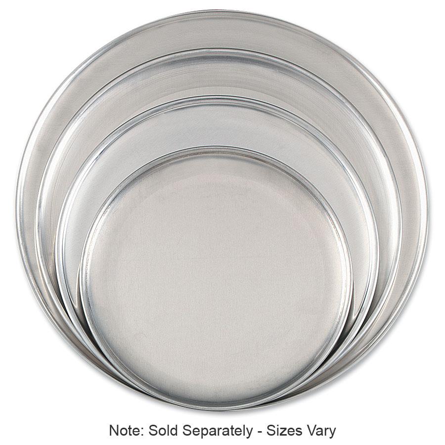 "Browne Halco 575313 Aluminum Pizza Plate, 13"" Diameter, Solid, 1.0 mm Gauge"