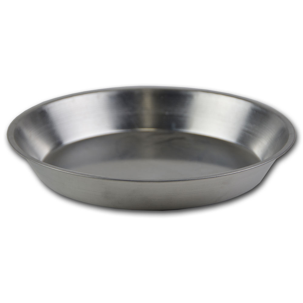 Browne Foodservice 575330 Aluminum Pie Plate, 10 in Diameter, 1-1/4 in Deep