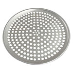 Browne Foodservice 575347 Perforated Pizza Plate, 7 in Diameter, 1.0 mm Gauge Aluminum