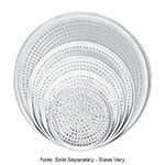 "Browne Halco 575351 Perforated Pizza Plate, 11"" Diameter, 1.0 mm Gauge Aluminum"