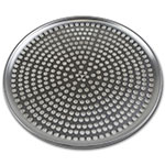 "Browne Halco 575352 Perforated Pizza Plate, 12"" Diameter, 1.0 mm Gauge Aluminum"