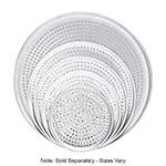 "Browne Halco 575354 Perforated Pizza Plate, 14"" Diameter, 1.0 mm Gauge Aluminum"