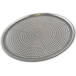 "Browne Halco 575359 Perforated Pizza Plate, 19"" Diameter, 1.0 mm Gauge Aluminum"