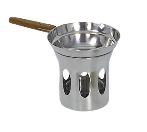 Browne Halco 575725 Butter Warmer, with Stand, Stainless Steel
