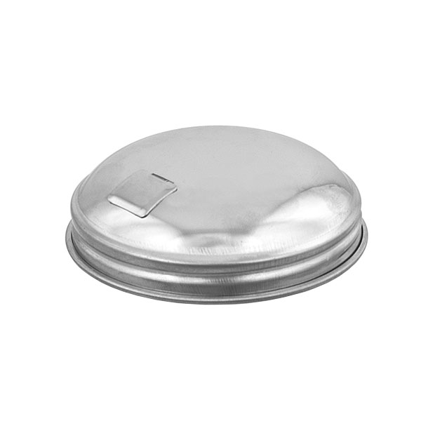 Browne Halco 57T Sugar Pourer Cover Only, 12 oz, for 57S Server, Stainless Steel