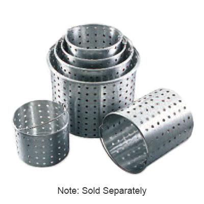 """Browne 5811160 60-qt Aluminum Steamer Basket, 12.5"""" dia., 15.25""""H"""