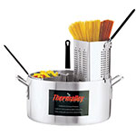 Browne Halco 5813318 Thermalloy Pasta Cooker, 20 qt, Includes 4 Inserts