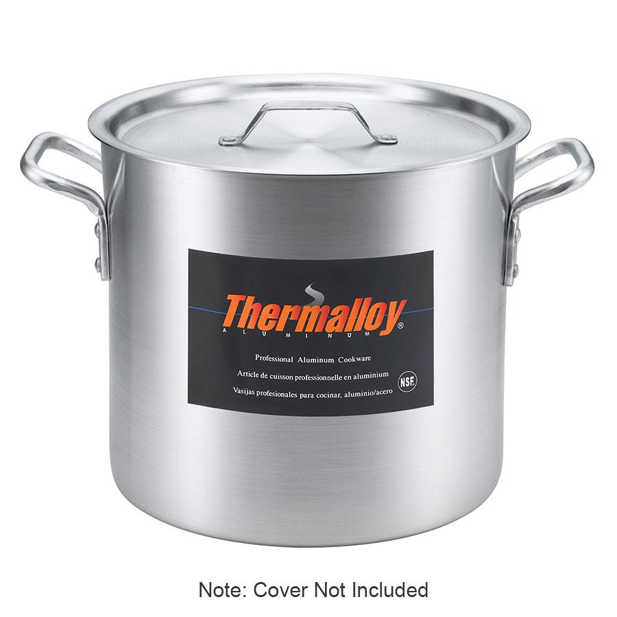 Browne Halco 5814112 12-qt Aluminum Stock Pot