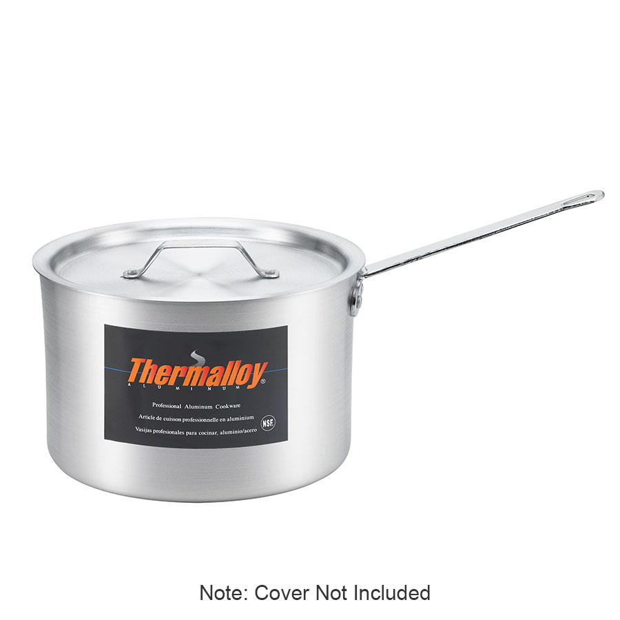 Browne Halco 5814503 3.75-qt Aluminum Saucepan w/ Solid Metal Handle