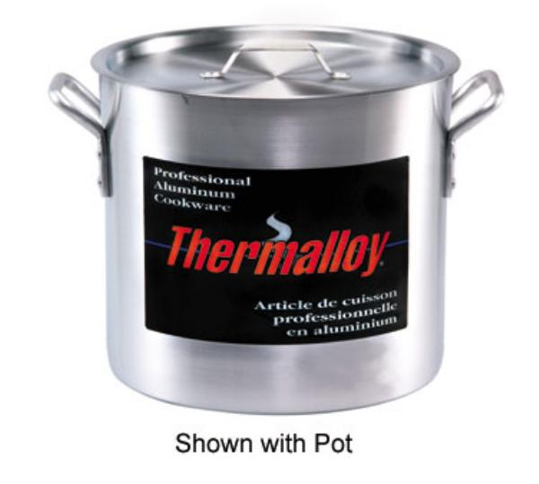 Browne Halco 5815140 Thermalloy Aluminum Cover for 140 qt Stock Pot, NSF