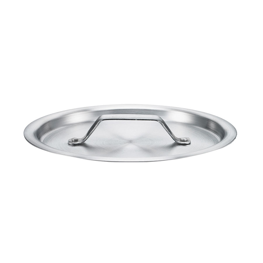 Browne Foodservice 5815901 Flat Saucepan Cover for 5813901 - Aluminum