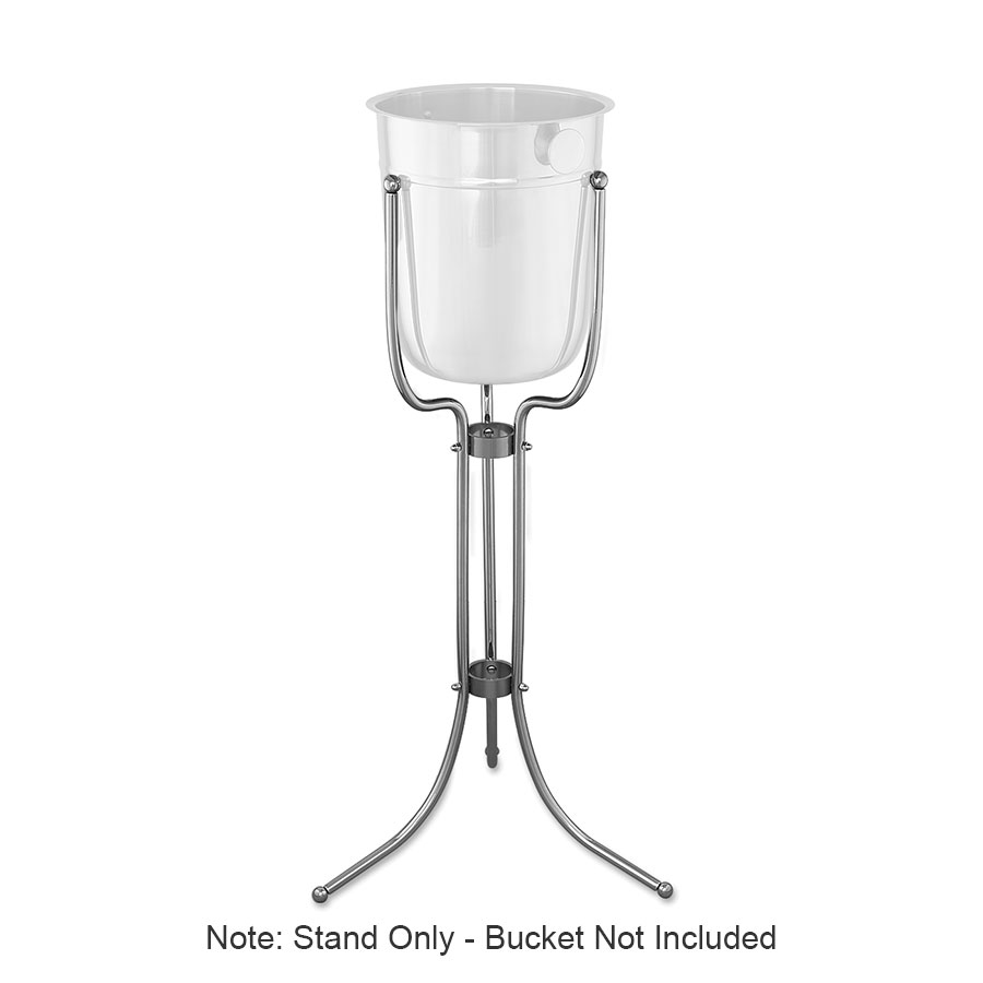 Browne Halco 69502 Wine Bucket Stand Only, 30 in, Chrome Plated