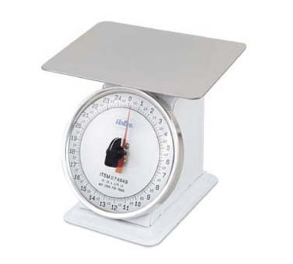 Browne Foodservice 74849 Portion Scale, 25 lb x 2 oz Graduation, Shatterproof Lens