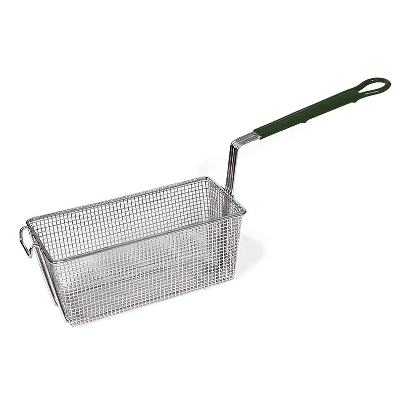 Browne Foodservice 79204 Half Size Fryer Basket, Steel