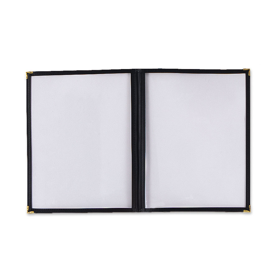 Browne Halco 79921 Menu Cover, 8-1/2 x 11 in, Double Fold, Protective Cover