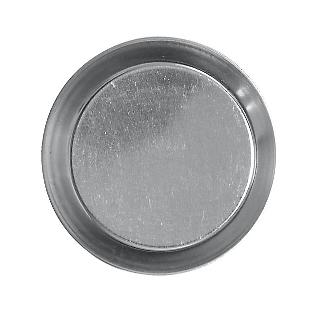 Browne Halco 80193670 Tartelette Mould, 3-1/2 in, Plain, Tin